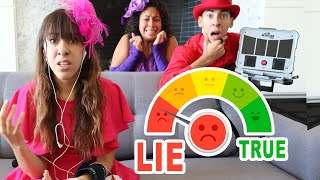 Lie Detector Test on our Sister! She is the Puppet Master?