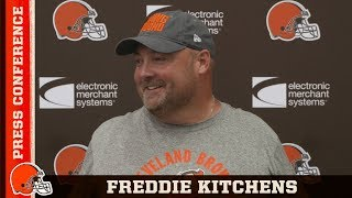 Freddie Kitchens Is Blocking Out the Haters | Cleveland Browns
