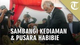 Xanana Gusmao Sambangi Kediaman dan Pusara BJ Habibie