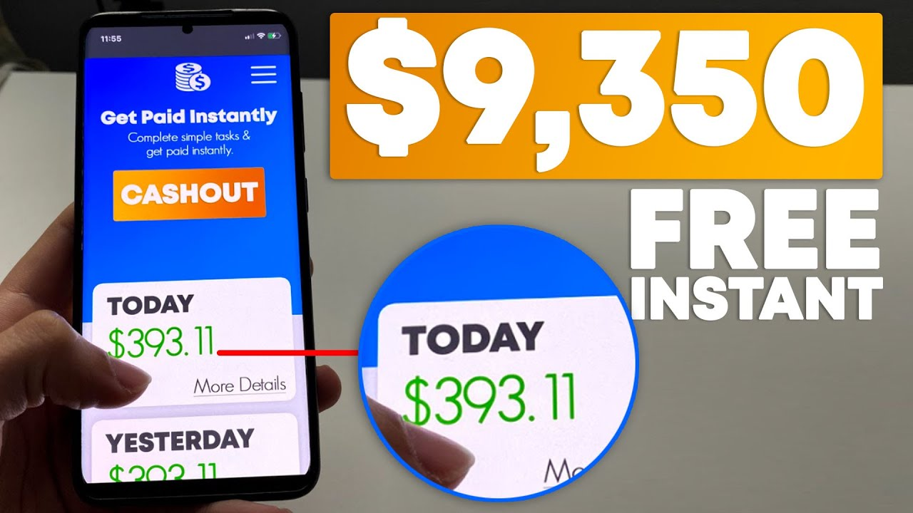 BEST Free App That Pays You Instantly (iOS & Android) | Make Money Online