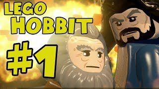 Lego The Hobbit Walkthrough Part 1  There And Back Again  Lego Hobbit The Video Game Gameplay