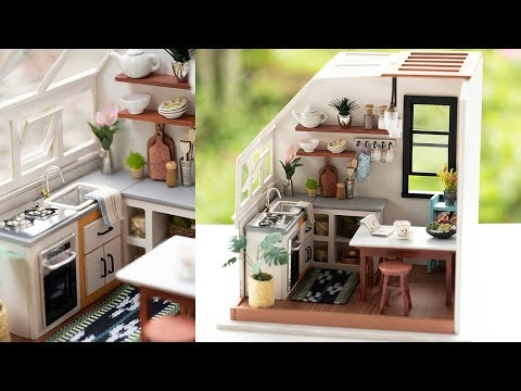 DIY Miniature Jason's Kitchen - RoLife