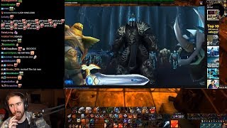 Asmongold Reacts to The Wrathgate Remastered (World of Warcraft Cinematic) by IKedit