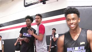 Trae Young BATTLES Collin Sexton & Jaylen Hands in a Competitive One on One