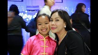 Elyza - con gái Việt Hương múa quyền Wushu