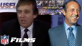 USFL vs. NFL 1984 NFL Draft WAR | NFL Draft Stories