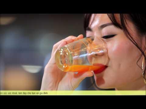Diễn viên Thanh Hương hướng dẫn sử dụng Nacubest - Nano curcumin 20%