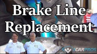 Brake Hose Change Toyota Tacoma 2004-2015
