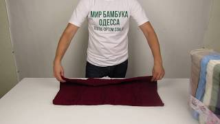 Полотенце махровое Massimo Monelli, 70 х 140 см., 6 шт / уп. 880104 от компании МИР БАМБУКА ОПТ. Полотенце, халат, простынь оптом, Одесса, 7 км. - видео