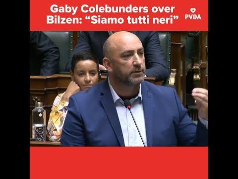 """Gaby Colebunders (PVDA) reageert op brandstichting in Bilzen: """"In de mijnen was iedereen zwart"""""""