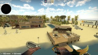 CS:GO ZOMBIE SURVIVAL MOD zm_beach_house_v1_3