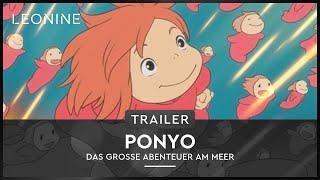 Ponyo - Das große Abenteuer am Meer Film Trailer