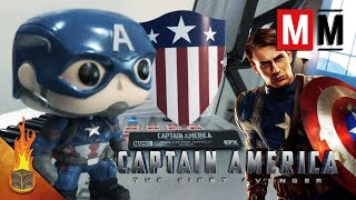 """Captain America: The First Avenger """"Captain America March"""" Cover"""