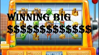 Rollercoaster Tycoon 4 Mobile - Winning BIG in slots!