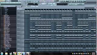A$AP Mob--Black Mane (FL Studio Remake)