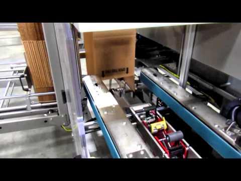 2015 Formadora de cajas 2-EZ® HS con cinta adhesiva de 3 pulgadas