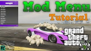gta 5 mod menu (ps3) (1 29 no jailbreak) (USB MOD MENU Download