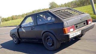 ВАЗ 2108 с двигателем V8 от Audi. Оживление.