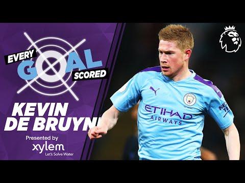KEVIN DE BRUYNE | RAINING GOALS | EVERY PREMIER LEAGUE GOAL SCORED | MAN CITY