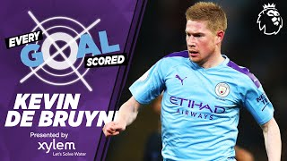 KEVIN DE BRUYNE | RAINING GOALS | EVERY PREMIER LEAGUE GOAL SCORED | MAN CITY
