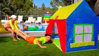 Катя и Макс НЕ ПОДЕЛИЛИ ЕДУ! Кто Во ВСЕМ ВИНОВАТ? /Kids have fun with children