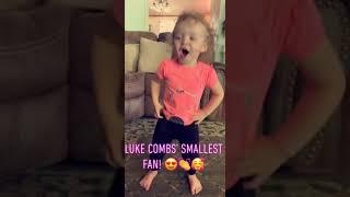 2 Year Old Version Of Luke Combs: Beer Never Broke My Heart