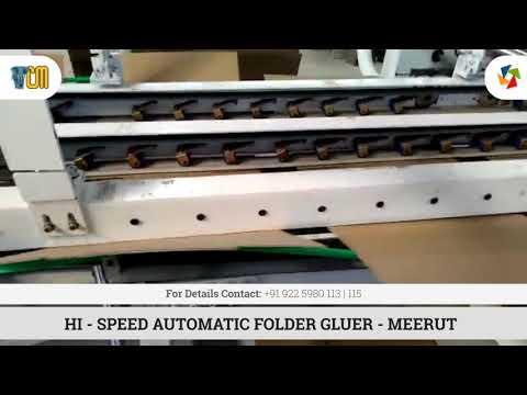 Automatic Carton Folder Gluer - Standard Model