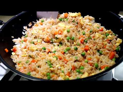 como hacer el original arroz chino frito