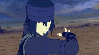 Space Time Ninjutsu Sasuke the Last - Naruto Ultimate Ninja Storm 4 PC Moveset Mod Gameplay