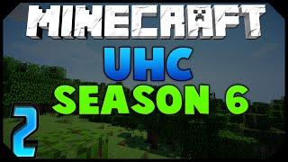 Minecraft: ULTRA HARDCORE SEASON 6 | Ep.2 w/AciDic BliTzz