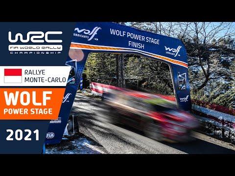 WRC 2021 開幕戦のラリーモンテカルロ ハイライト動画