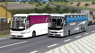 🔴 Hanif Volvo Bus Got Stuck in Mud   Euro Truck Simulator 2
