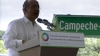 preview picture of video 'Ampliación y modernización de la carretera Campeche-Mérida'