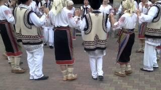 Formatia de dansuri populare Serpoaica – Gioseni jud. Bacau – Slanic Moldova 2014 partea II