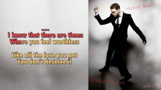 Michael Bublé  - I Believe in You -  Instrumental