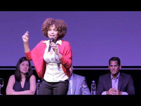 """Palabras de Elaine Féliz en el Panel: """"Jóvenes y Derechos más allá del 2015"""""""