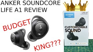Anker Soundcore Life A1 Review - Best Budget Luxury/Workout earbuds?