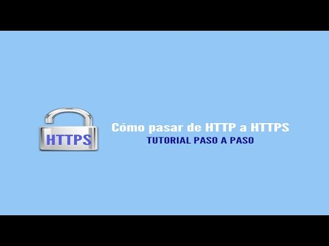 Cómo migrar de http a https. Instala el Certificado SSL paso a paso