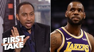 LeBron will struggle pleasing Kobe loyalists - Stephen A. | First Take
