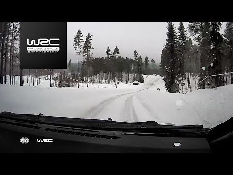 WRC - Rally Sweden 2018: ONBOARD Lappi SS18