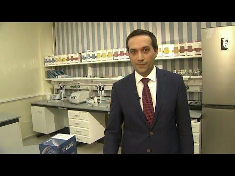 О тест-системе на антитела рассказывает глава центра вирусологии в Новосибирске Ринат Максютов.