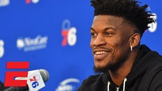 Sixers welcome Jimmy Butler to Philadelphia (First Press Conference as a Sixer)