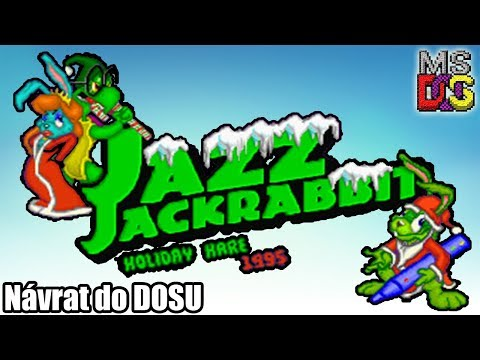 |Návrat do DOSU| - Jazz Jackrabbit: Holiday Hare 95 - Vánoce s ušatcem