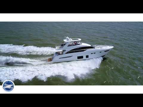 Princess 68 Flybridge Motor Yachtvideo