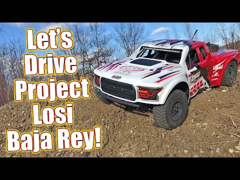 Radical Losi Baja Rey Project Truck Finished