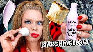 TESTING MARSHMALLOW Makeup! 🍥 by GRAV3YARDGIRL