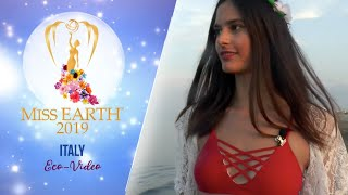 Letizia Percoco Miss Earth Italy 2019 Eco Video