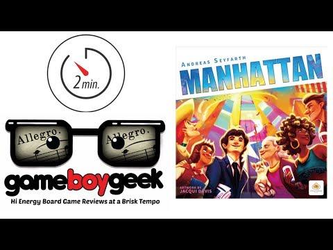 The Game Boy Geek's Allegro (2-min) Review of Manhattan
