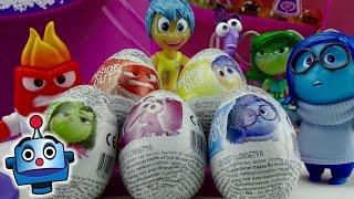 Huevos Sorpresa De Inside Out Del Revés Intensa-Mente