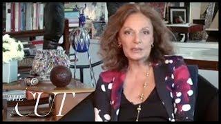 Diane Von Furstenberg Talks Wrap Dress, First Times And Paying The Bills